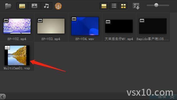 会声会影x10多相机编辑器合成的视频