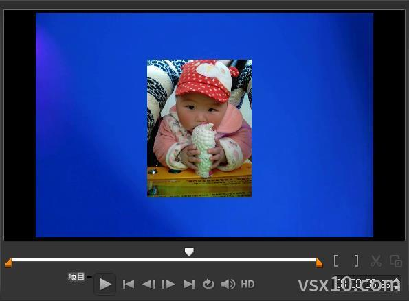 会声会影x10共享面板预览视频项目