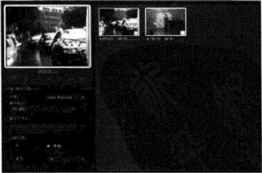 会声会影x3故事板中视频场景缩略图