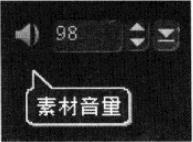 会声会影x3素材音量调节