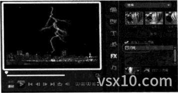 会声会影x3应用滤镜