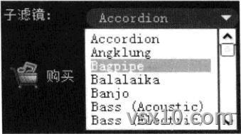 会声会影x3自动音乐子滤镜