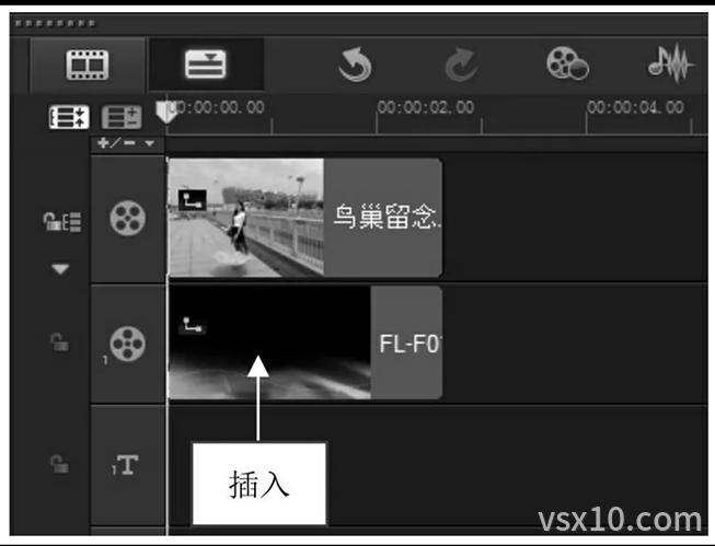 会声会影x9插入Flash模板