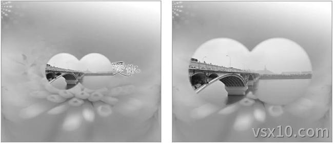 预览自定义动作制作的镜头推拉效果