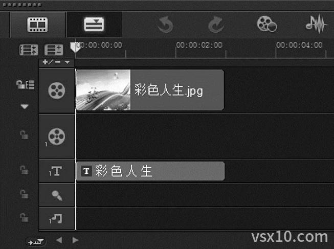 预览带有标题字幕的项目文件
